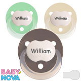 Baby Nova, rond, silicoon, one size