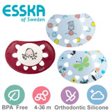 Esska Classic,  orthodontisch, silicoon